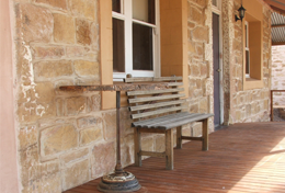 Bundaleer Cottage Veranda