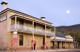 Oldest licensed hotel in the Flinders Ranges...